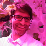 Marco Tidona, inventor of the aponix.eu aeroponic barrel
