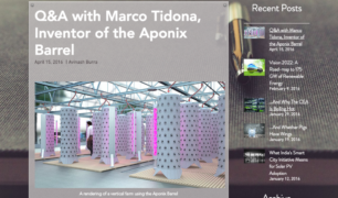 Green Millenium Q&A with Marco Tidona, Inventor of the Aponix Barrel