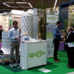 Aponix booth at GreenTech 2016 in Amsterdam