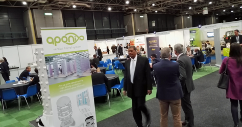 Aponix at the Global Forum for Innovation in Agriculture (GFIA) 2017 in Utrecht