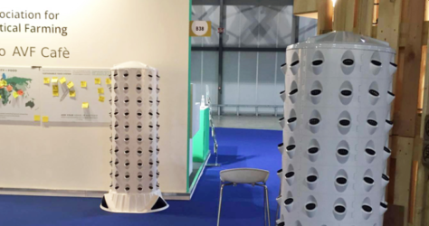 Aponix in the AVF Cafe at Seeds & Chips 2017 in Milan