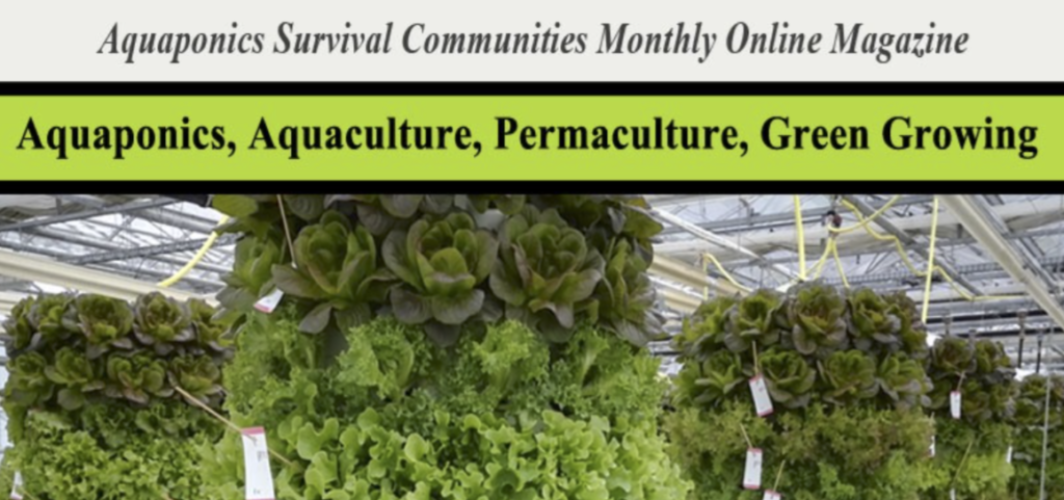 Title Page and Article in ASC Aquaponics Magazine