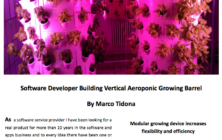 ASC Magazine, Okt. 2015 – Software Developer Building Vertical Aeroponic Growing Barrel