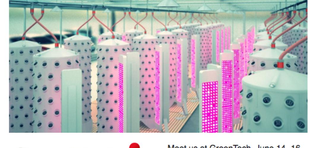 Aponix Newsletter 2016-05 – GreenTech / Vertical Farming Pavilion