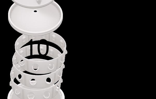 Soil-less standalone barrel