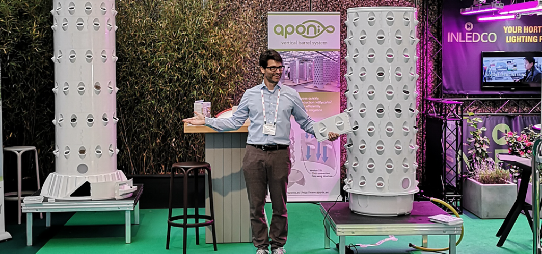 Aponix at GreenTech 2018