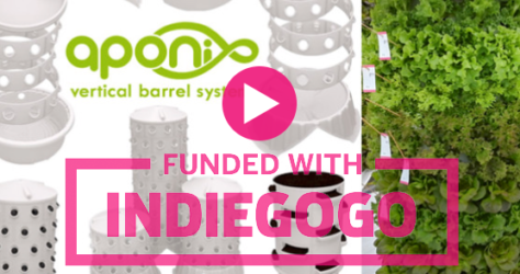 Aponix Newsletter 2017-12 – Indiegogo campaign
