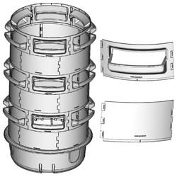 Substrate Vertical barrel